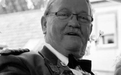Liblarer Schützen trauern um Adolf Giesa
